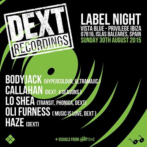 Dext Label Night